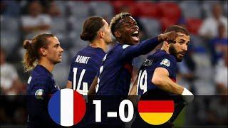 Франция 1-0 Германия обзор матча. Чемпионат Европы 2020. 15.06.2021