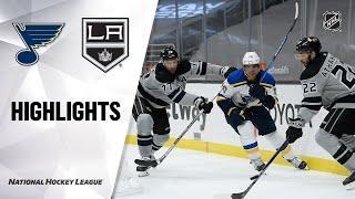 St. Louis Blues vs Los Angeles Kings | Mar.06, 2021 | Game Highlights | NHL 2021 | Обзор матча