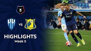 Highlights FC Nizhny Novgorod vs FC Rostov (1-2) | RPL 2021/22