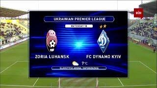 УПЛ | Чемпионат Украины по футболу 2021 | Заря - Динамо - 0:2. Обзор матча