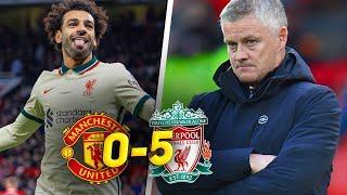 ГЕНИАЛЬНЫЙ САЛАХ! Манчестер Юнайтед Ливерпуль 0:5 / Обзор матча АПЛ