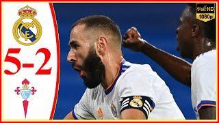 Real Madrid vs Celta Vigo 5−2 - Extеndеd Hіghlіghts & All Gоals 2021 HD