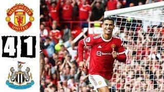 Манчестер Юнайтед - Ньюкасл 4:1 Обзор Матча | Все Голы и Моменты 11.09.2021