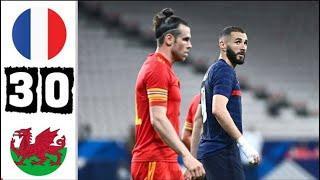 Франция - Уэльс 3-0 Обзор Матча Товарищеский Матч 02.06.2021
