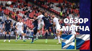 Шотландия- Чехия 0-2 . Обзор матча. Евро 2020. Группа D. 1 тур. 14.06.2021.