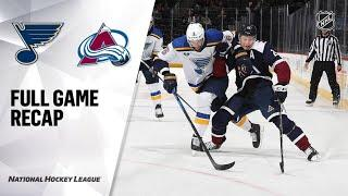 St. Louis Blues vs Colorado Avalanche | Oct.16, 2021 | Game Highlights | NHL 2022 | Обзор матча