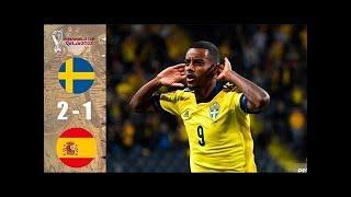 ???? Швеция - Испания 2-1 - Обзор Отборочного Матча Чемпионат Мира 02/09/2021 HD ????