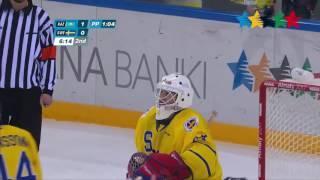 Универсиада Алматы. Видеообзор матча Казахстан - Швеция четвертьфинал