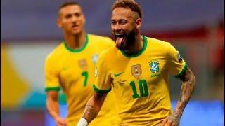 Обзор матча Бразилия - Венесуэла - 3:0. Copa America-2021