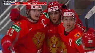 МЧМ-2021. Групповой этап. Россия – Швеция 4:3 ОТ. Обзор матча