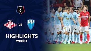 Highlights Spartak vs Nizhny Novgorod (1-2)   RPL 2021/22