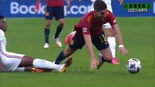 Франция — Испания. Обзор матча. Голы и опасные моменты