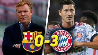 СТРАДАНИЯ БАРСЕЛОНЫ / Барселона Бавария 0:3 / Обзор матча Лиги Чемпионов
