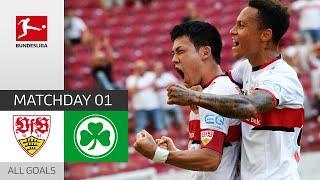 Goal Fest in Stuttgart   VfB Stuttgart - Fürth 5:1   All Goals   MD 1 – Bundesliga 21/22