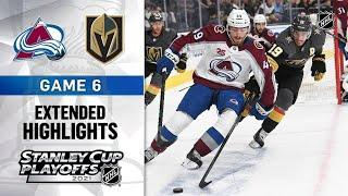 Colorado Avalanche vs Vegas Golden Knights   Stanley Cup 2021   Game 6   Jun.10, 2021   Обзор матча