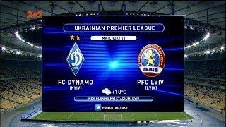 Динамо – Львов - 4:0. Обзор матча