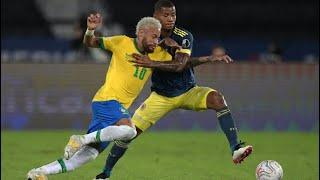 Обзор матча Бразилия - Колумбия - 2:1. Copa America-2021