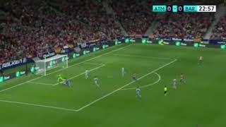 goal de Lemar vs Barcelona | Barcelona vs Madrid | гол Лемара в ворота Барселоны| Барселона Атлетико