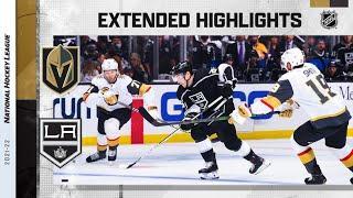 Vegas Golden Knights vs Los Angeles Kings | Oct.14, 2021 | Game Highlights | NHL 2022 | Обзор матча