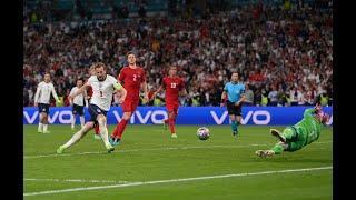 Англия - Дания 2:1 впервые в финале Евро 2020