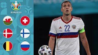 Бельгия - Россия: без шансов | Дания - Финляндия: Эриксен | Уэльс - Швейцария | Обзор ЕВРО-2020