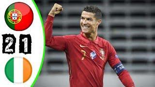 ???? Португалия - Ирландия 2-1 - Обзор Отборочного Матча Чемпионат Мира 01/09/2021 HD ????