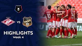 Highlights Spartak vs FC Ural (1-0)   RPL 2021/22