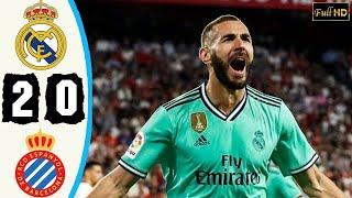 7.12.19 Реал Мадрид - Эспаньол - 2:0. Обзор матча