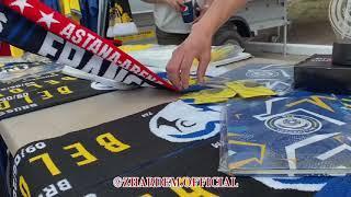 MATCHDAY | Казахстан - Бельгия | U-21 | Атмосфера перед матчем , голы , фанат выбежал на поле