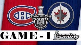 Montreal Canadiens vs Winnipeg Jets | Stanley Cup 2021 | Game 1 | Jun.02, 2021 | Обзор матча