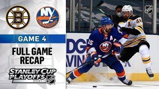 Boston Bruins vs New York Islanders | Stanley Cup 2021 | Game 4 | Jun.05, 2021 | Обзор матча