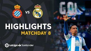 Resumen de RCD Espanyol vs Real Madrid (2-1)