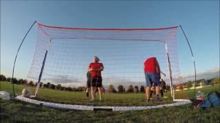 Highlights of soccer game Blue vs Red/ Видео обзор футбольного матча Синиe против Красных