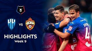 Highlights FC Nizhny Novgorod vs CSKA (0-2)   RPL 2021/22