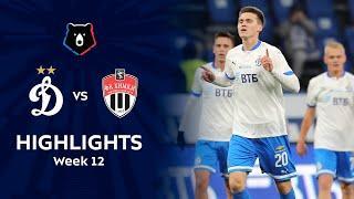 Highlights Dynamo vs FC Khimki (4-1) | RPL 2021/22