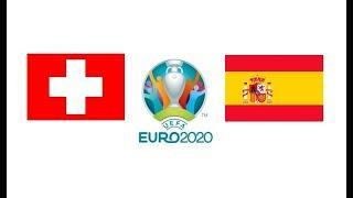 Швейцария Испания 1 - 1 обзор матча серия пенальти футбол ЕВРО 02.07.2021 смотреть прогноз матча