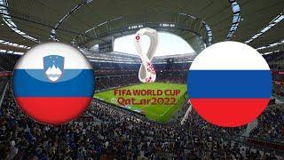 СЛОВЕНИЯ РОССИЯ 1-2 ОБЗОР МАТЧА 11.10.2021 ФУТБОЛ ВИДЕО ГОЛЫ ОТБОРОЧНЫЙ МАТЧ прогноз FIFA 22