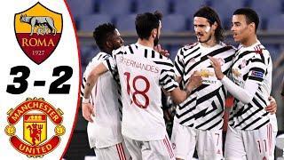 ???? Рома - Манчестер Юнайтед 3-2 - Обзор Матча Полуфинал Лиги Европы 06/05/2021 HD ????