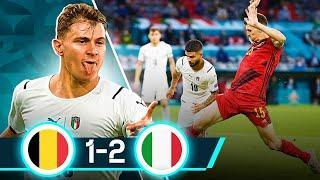 АДЗУРРИ В ПОЛУФИНАЛЕ! Обзор матча Бельгия - Италия 1:2 | ЕВРО 2020