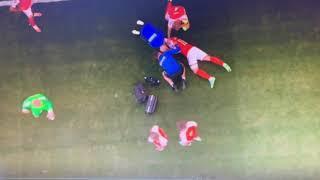 Кристиан Эриксен потерял сознание во время матча ЧЕ-2021