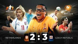НИДЕРЛАНДЫ 2-3 ЧЕХИЯ. Обзор матча Евро 2004