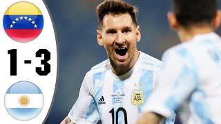 ???? Аргентина - Венесуэла 3-1 - Обзор Отборочного Матча Чемпионат Мира 02/09/2021 HD ????