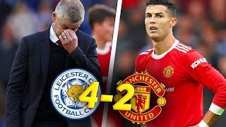 ПРОВАЛ СУЛЬШЕРА! Лестер Манчестер Юнайтед 4:2 / Обзор матча АПЛ