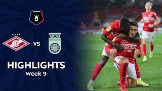 Highlights Spartak vs FC Ufa (2-0)   RPL 2021/22