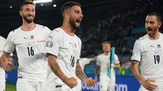 Италия - Бельгия 2-1. После первого тайма