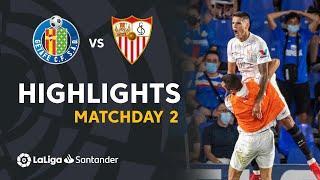 Resumen de Getafe CF vs Sevilla FC (0-1)