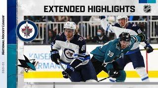 Winnipeg Jets vs San Jose Sharks | Oct.16, 2021 | Game Highlights | NHL 2022 | Обзор матча
