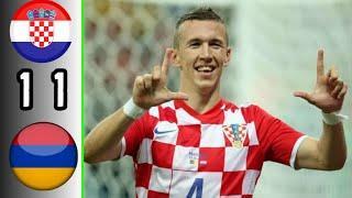 Croatia vs Armenia 1-1 Highlights | Ivan Perisic Goal | International Friendly 2020/21