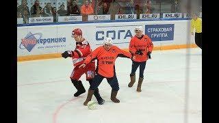 Видеообзор благотворительного матча «Автомобилист» - «Урал»
