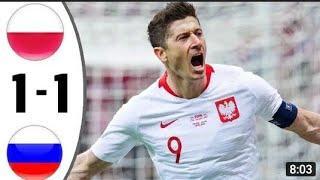 Польша - Россия 1-1 Обзор Матча Товарищеский Матч 01.06.2021